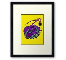 lio amarillo Framed Print
