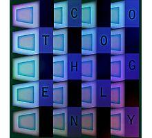 Vaporwave-TECHNOLOGY Photographic Print