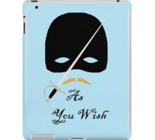 As You Wish iPad Case/Skin