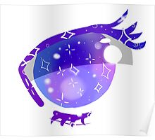 Stary eyed Poster