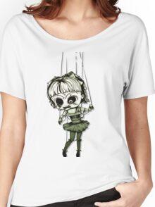 Marionette Skull Doll Women's Relaxed Fit T-Shirt