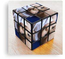 cube boy Canvas Print