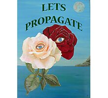 Lets Propagate, Roses Photographic Print