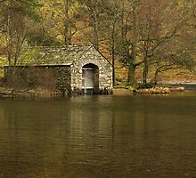The boathouse by Steve plowman