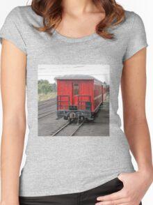 Cumbres & Toltec Passenger Car Women's Fitted Scoop T-Shirt
