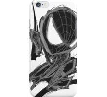 black spider! iPhone Case/Skin