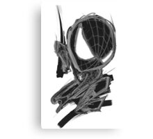 black spider! Canvas Print