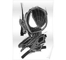black spider! Poster