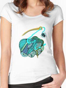 lio ultramar Women's Fitted Scoop T-Shirt