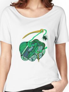 lio verde Women's Relaxed Fit T-Shirt