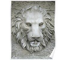 Lion's Head Fountain Poster
