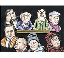 Grumpy old Men Photographic Print