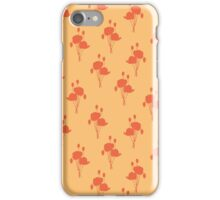 poppies gold field iPhone Case/Skin