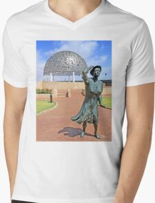 HMAS Sydney II Memorial Mens V-Neck T-Shirt