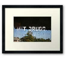 H&T Drugs Framed Print