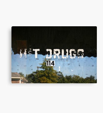 H&T Drugs Canvas Print