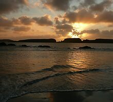 St Ninian's Isle Sunset by Redbarron