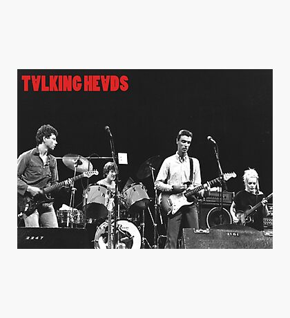 Talking Heads Photographic Print