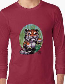 Tiger Panda... Feeling tough Long Sleeve T-Shirt