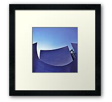 Walt Disney Concert Hall #2. Framed Print