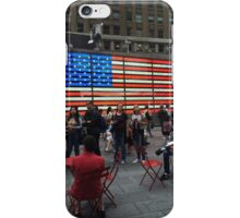 American Flag- Times Square iPhone Case/Skin