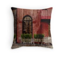cafe, New York  Throw Pillow
