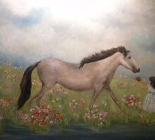 Her White Horse by allmanstudio