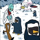 Mantus Lands on Assisiartica, the Planet of the Penguin Nuns by RONBAXLEYJR