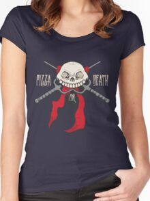 PIZZA or DEATH Women's Fitted Scoop T-Shirt