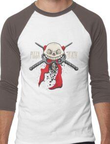 PIZZA or DEATH Men's Baseball ¾ T-Shirt