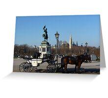 Vintage transportation? Greeting Card
