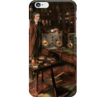Steampunk - The time traveler 1920 iPhone Case/Skin