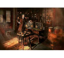 Steampunk - The time traveler 1920 Photographic Print