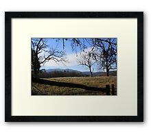 It's where I want to be... Framed Print