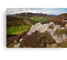 September in the Lake District Canvas Print