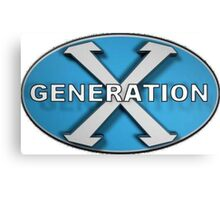 Generation X Logo Canvas Print