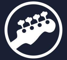 Bass Headstock T-shirt (Scott Pilgrim) Kids Tee