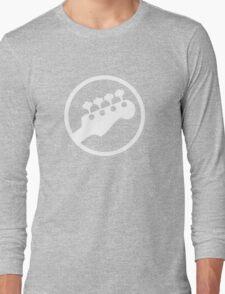 Bass Headstock T-shirt (Scott Pilgrim) Long Sleeve T-Shirt