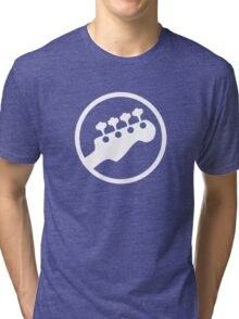 Bass Headstock T-shirt (Scott Pilgrim) Tri-blend T-Shirt