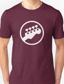 Bass Headstock T-shirt (Scott Pilgrim) Unisex T-Shirt