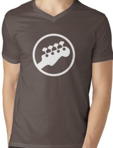 Bass Headstock T-shirt (Scott Pilgrim) Mens V-Neck T-Shirt