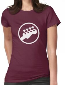 Bass Headstock T-shirt (Scott Pilgrim) Womens Fitted T-Shirt