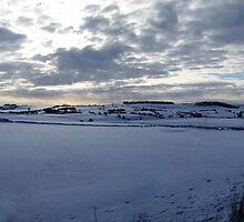 Staffordshire Snow Scene by Paul  Green