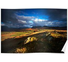 Patchwork Fells Poster