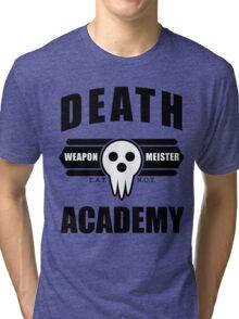 Death Weapon Meister Academy (Black) Tri-blend T-Shirt