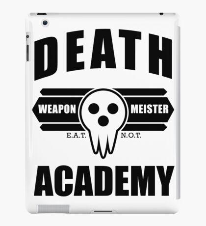 Death Weapon Meister Academy (Black) iPad Case/Skin