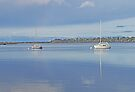 At anchor in Georges Bay by Graeme  Hyde