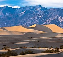 Grapevine Mountains - Death Valley National Park by Rick Gustafson