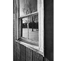 -A WINTERS VIEW- Photographic Print