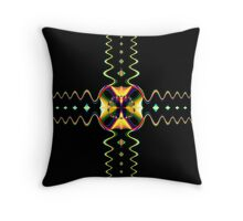 Simple Symmetry Throw Pillow